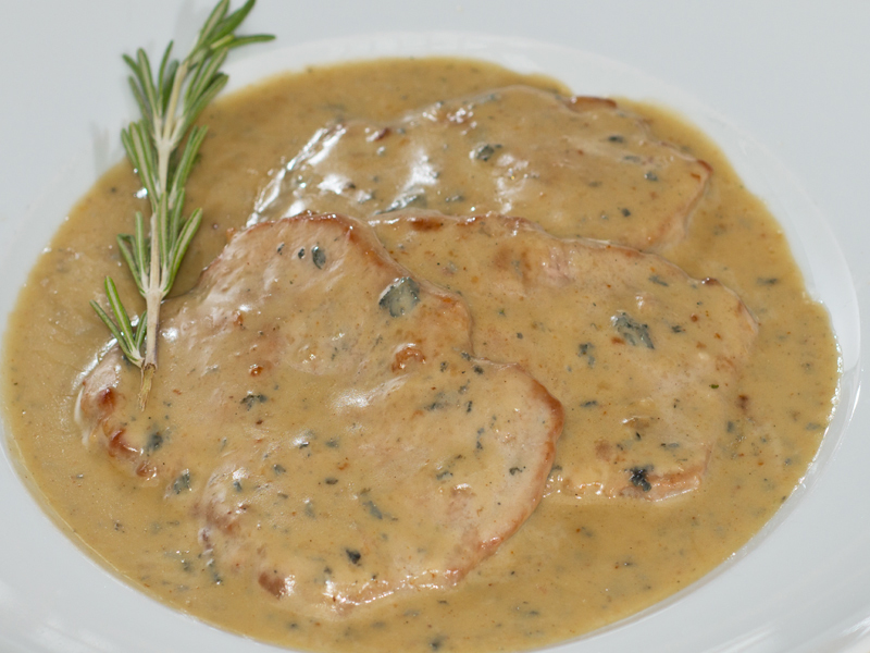 SCALOPPINE al GORGONZOLA